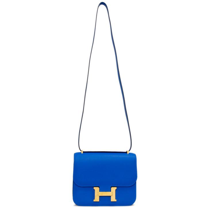 Hermes Bleu Zellige Evercolor Constance 18