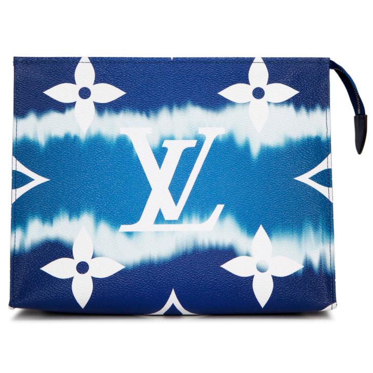 Louis Vuitton Blue Monogram Escale Toiletry Pouch 26