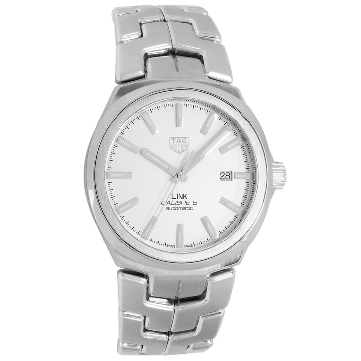 Tag Heuer Stainless Steel Link Automatic Watch WBC2111.BA0603