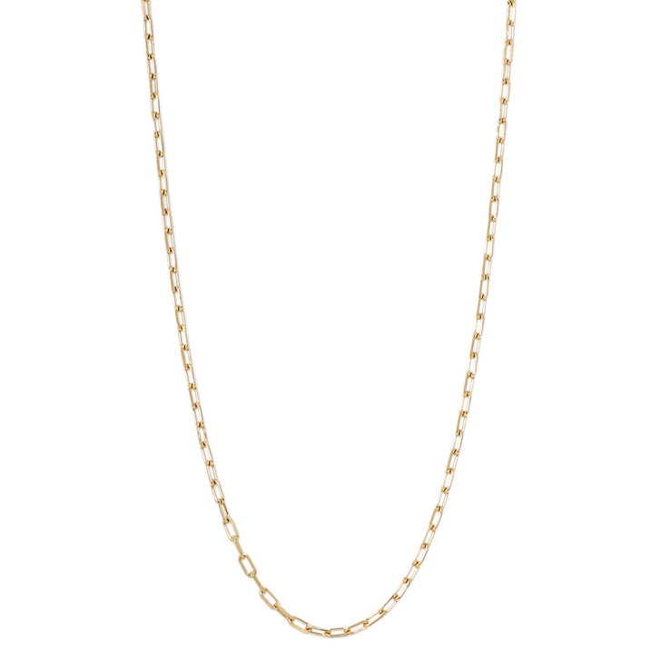 Cartier 18K Yellow Gold Santos de Cartier Chain Necklace