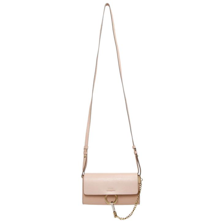 Chloe Pink Mini Faye Shoulder Bag