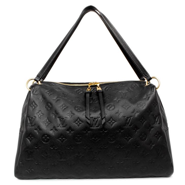 Louis Vuitton Black Empreinte Ponthieu MM