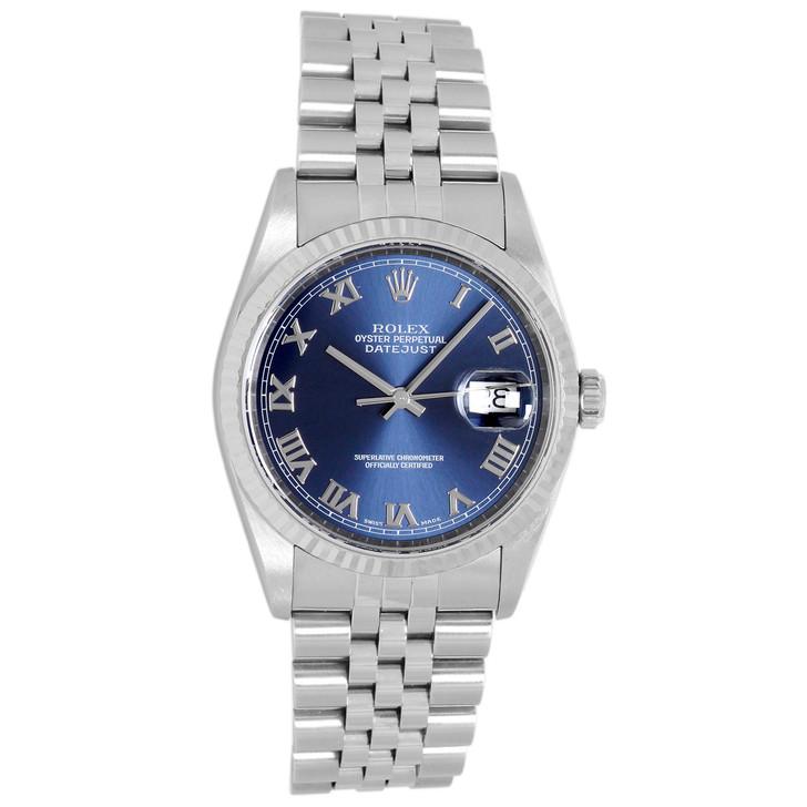 Rolex Stainless  Steel Datejust 36 16234