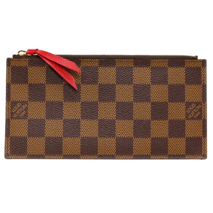 Louis Vuitton Damier Ebene Felicie Pochette Zipped Insert