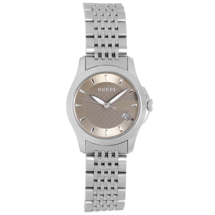 Gucci Stainless Steel 27mm G Timeless Quartz Watch