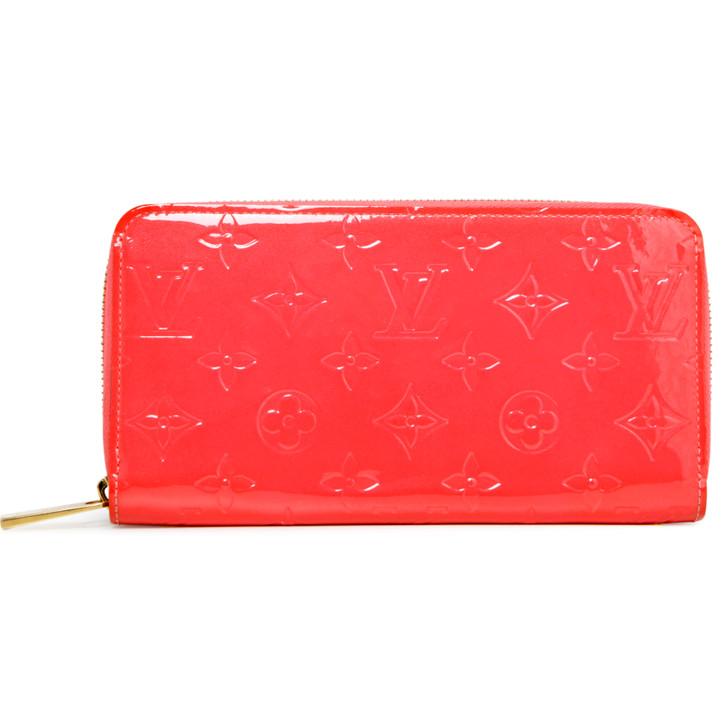 Louis Vuitton Litchi Vernis Zippy Wallet