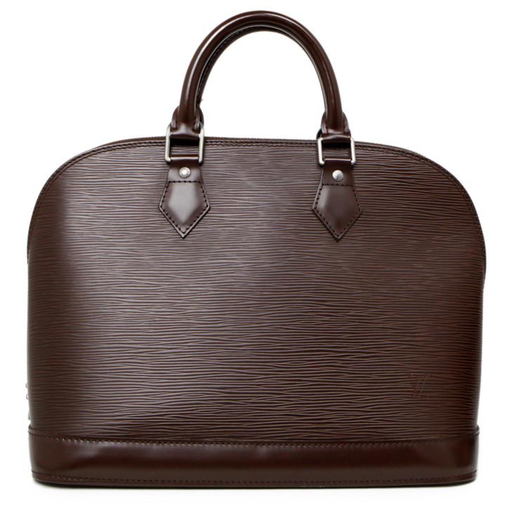 Louis Vuitton Moka Epi Alma PM