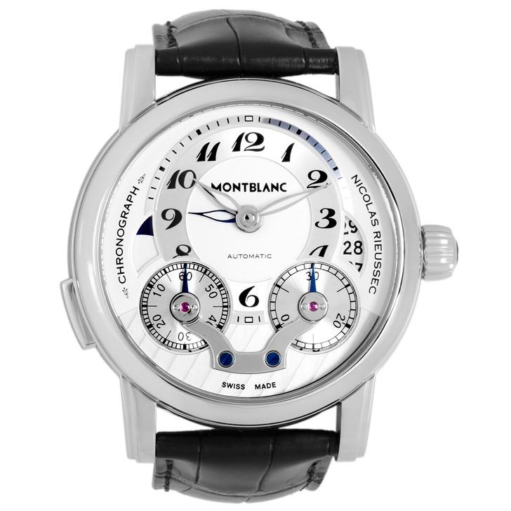 Montblanc Stainless Steel  Nicolas Rieussec Chronograph 106595