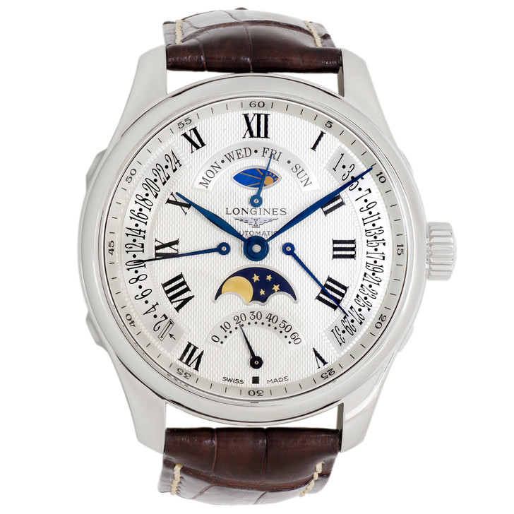Longines Master Collection Retrograde Moon Phase L2.739.4.71.3