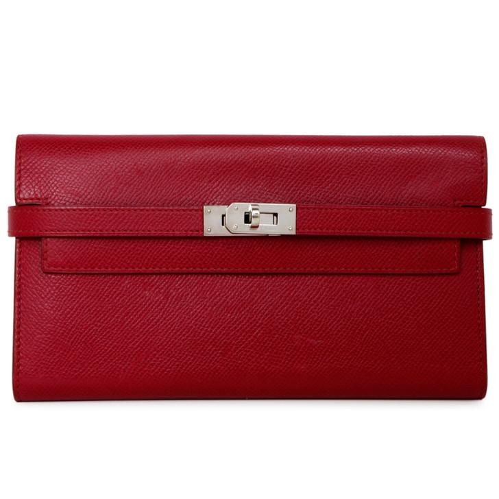 Hermes Tosca Epsom Kelly Longue Wallet