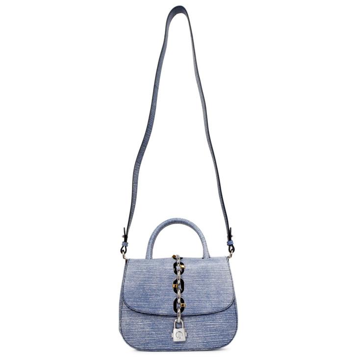 Louis Vuitton Blue Epi Chain It PM