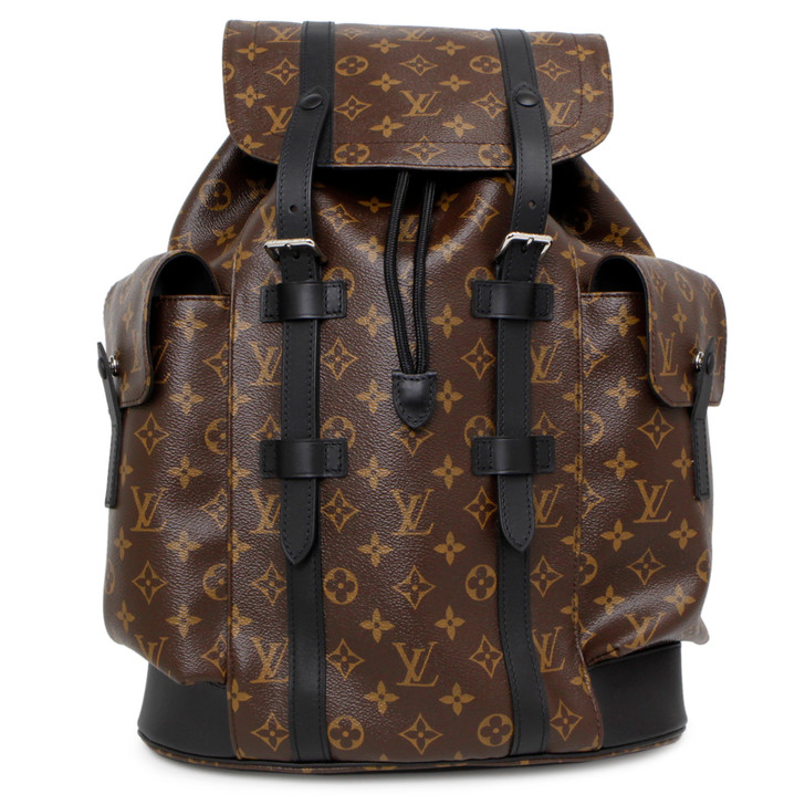 Louis Vuitton Monogram Macassar Christopher PM Backpack
