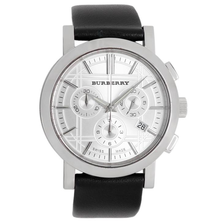 Burberry Stainless Steel Heritage Chronograph Quartz Watch BU1361