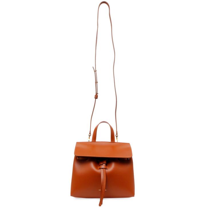 Mansur Gavriel Tan Calfskin Mini Mini Lady Bag