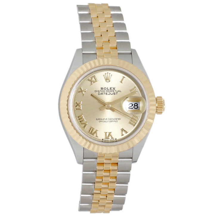 Rolex 18K & Stainless Steel Ladies Datejust 279173