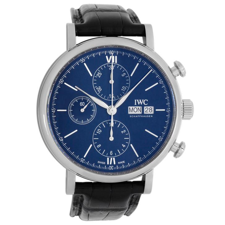 "IWC Portofino Chronograph Edition ""150 Years"" Automatic Watch IW391023"