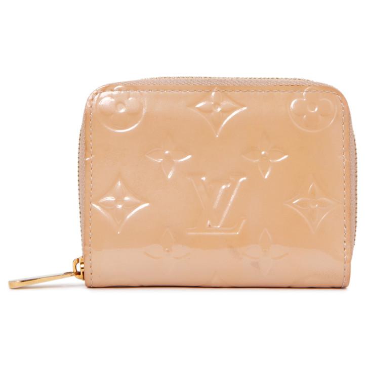 Louis Vuitton Rose Florentin Vernis Zippy Coin Purse