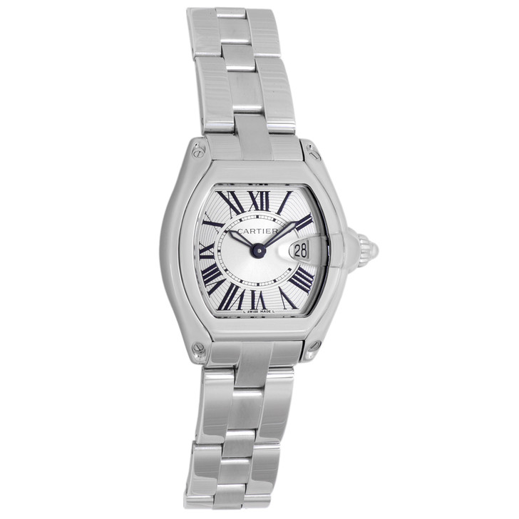 Cartier Stainless Steel Ladies Roadster  W62016V3