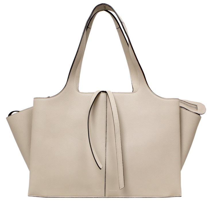 Celine Grained Calfskin Medium Tri-Fold Bag