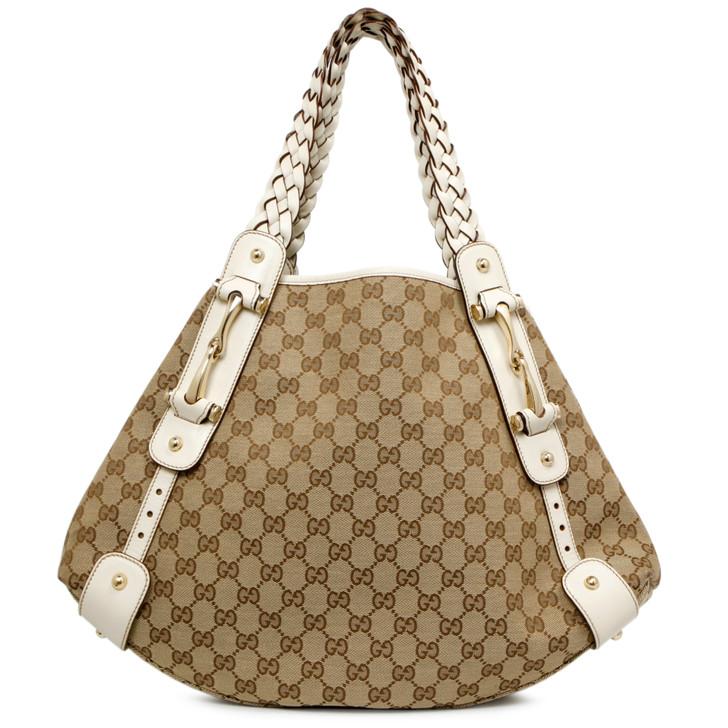 Gucci Monogram Pelham Shoulder Bag