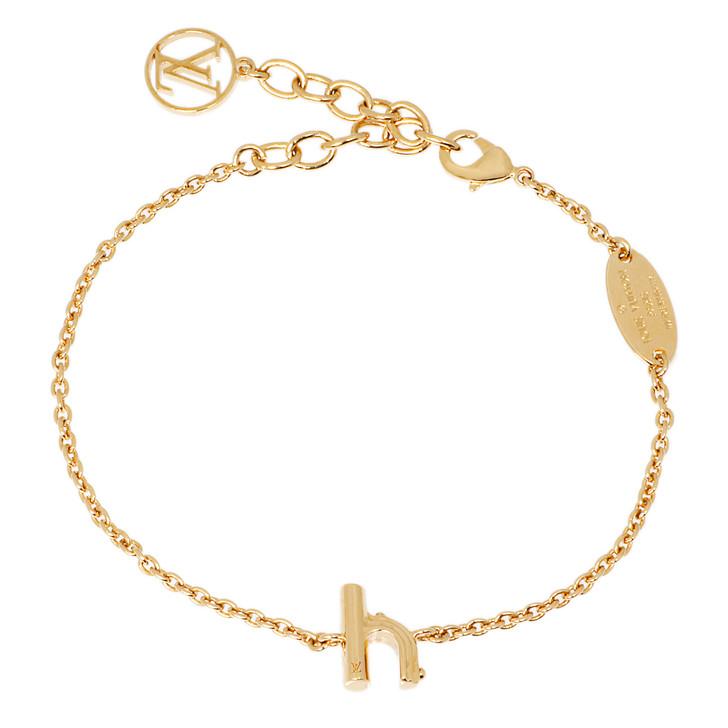 Louis Vuitton Me & Me 'h' Bracelet