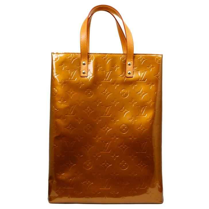 Louis Vuitton Bronze Vernis Reade MM