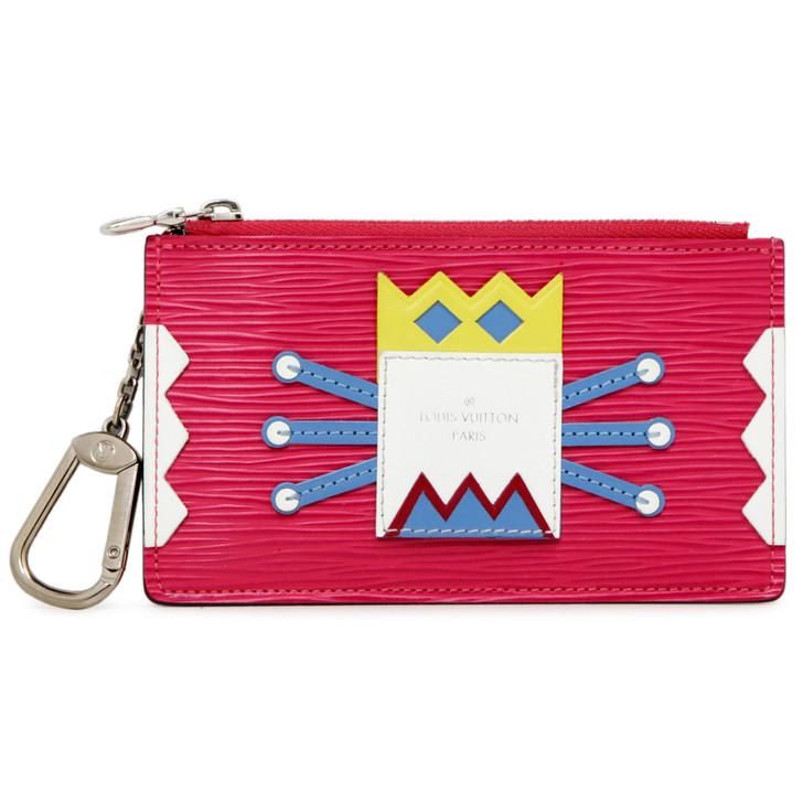 Louis Vuitton Pivoine Epi Tribal Mask Key Pouch