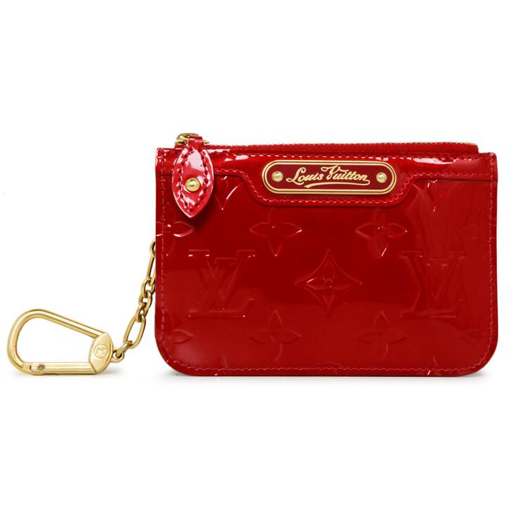 Louis Vuitton Pomme D'Amour Vernis Key Pouch