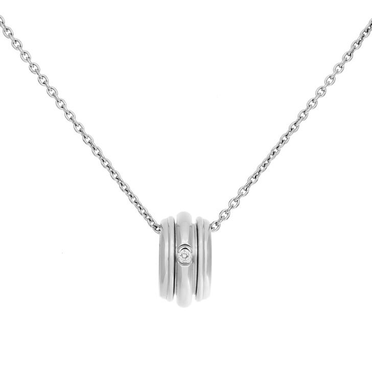 Piaget 18K White Gold Diamond Possession Pendant Necklace