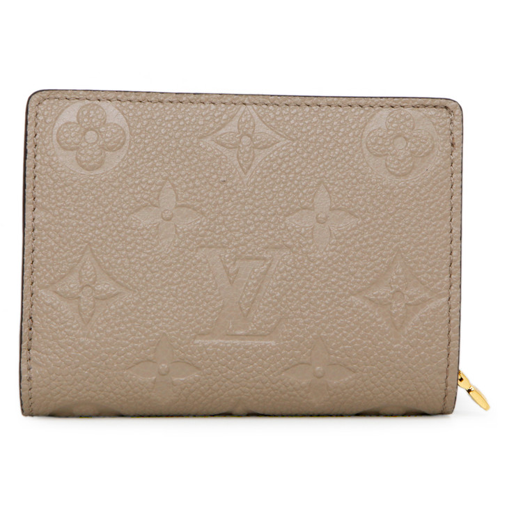 Louis Vuitton Turtledove Monogram Empreinte Clea Wallet