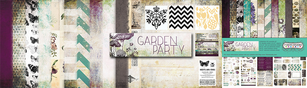 7 dots studio - garden party