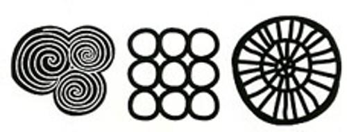 round & round stamps