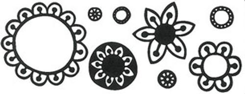 build a flower stamp