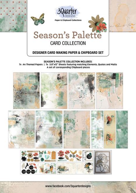 season's palette cardmaking kit