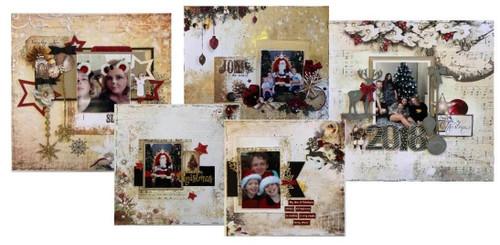 Christmas Day Scrapbooking kit