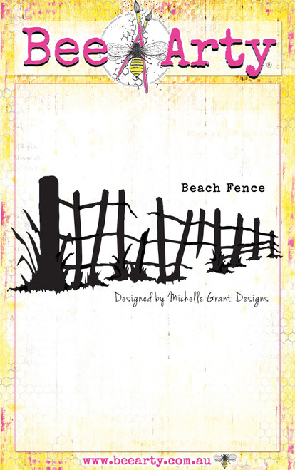 life's a beach - beach fence die