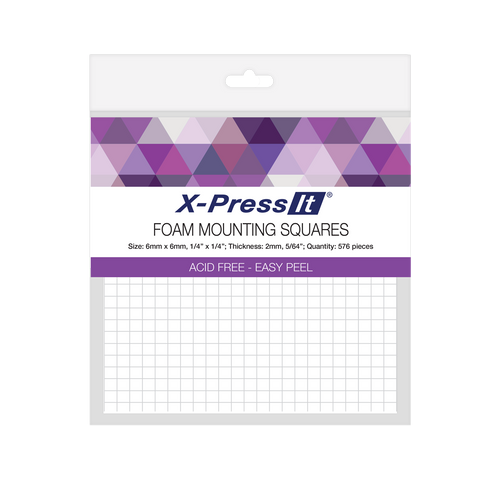 foam mounting squares