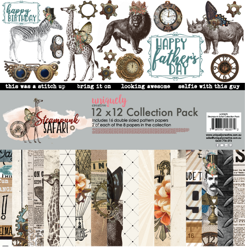 steampunk safari collection pack