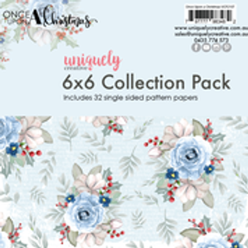 once upon a christmas 6x6 collection pack