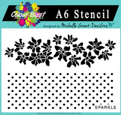 sparkle a6 stencil