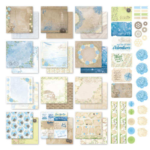 new adventures 12x12 collection kit