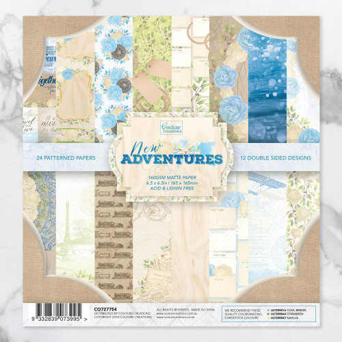 new adventures 6.5x6.5 paper pad