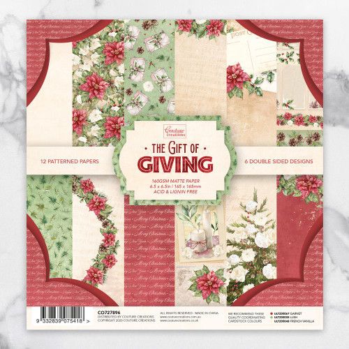 the gift of giving 6.5x6.5 paper pad