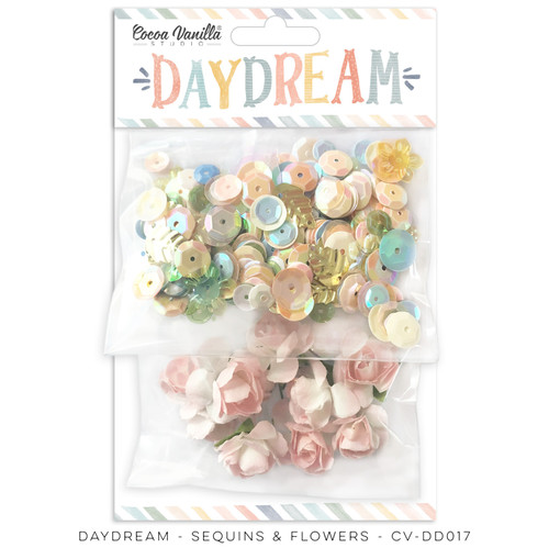 daydream sequins & flowers