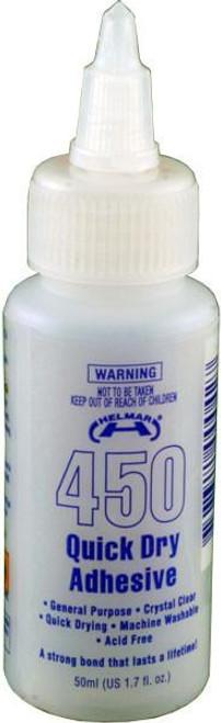 450 quick dry adhesive 50ml