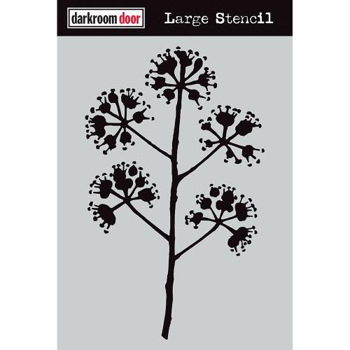 large stencil - blossum