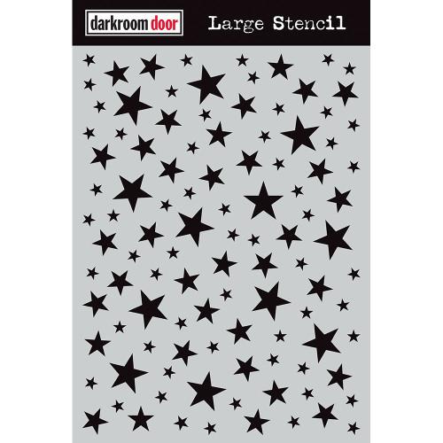 large stencil - starry night