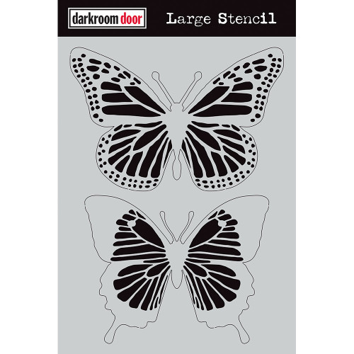 large stenicl - butterflies
