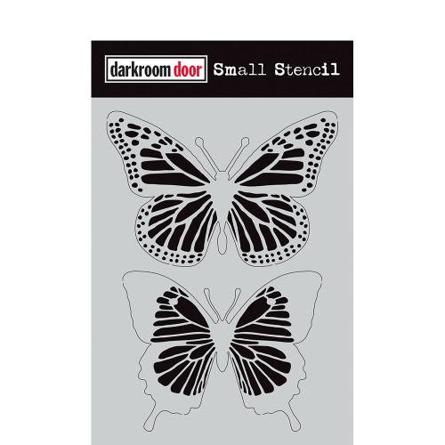 small stencil - butterflies