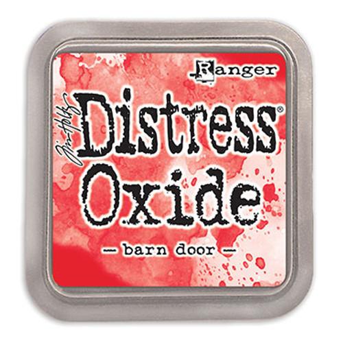 distress oxide barn door